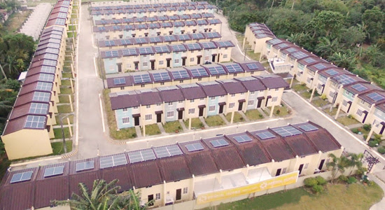 Solar powered low cost housing community philippine for Low cost house plans philippines
